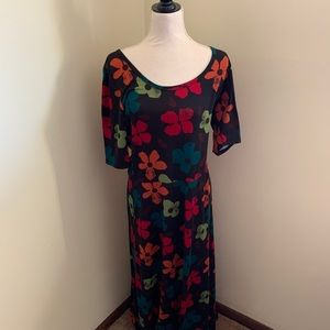 GUC LuLaRoe Ana maxi dress